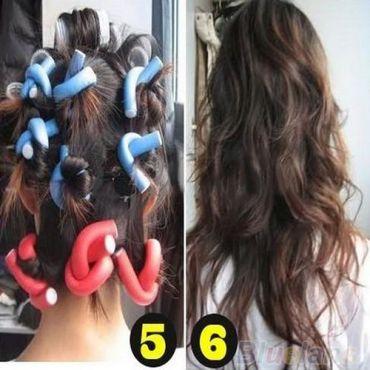 10 ks pěnové natáčky na vlasy