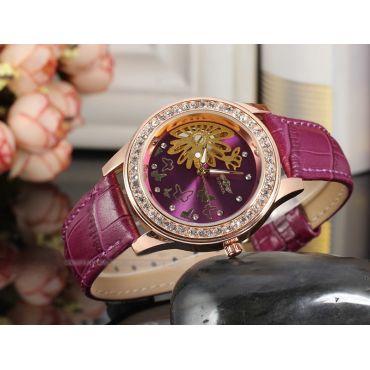 Dámské hodinky Winner Flower- fialové