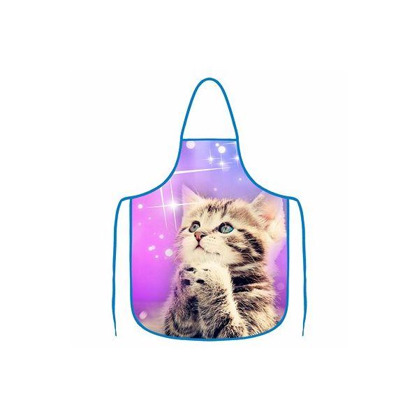 Kuchyňská zástěra - Kočička
