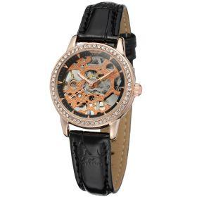 Dámské hodinky Winner Charisma - zlaté