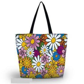 Huado nákupní a plážová taška - Gerbery