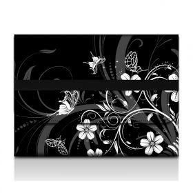 Huado filcové desky na dokumenty A4 - Květiny a motýlci