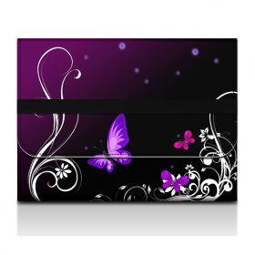 Huado filcové desky na dokumenty A4 - Purpurový motýlci
