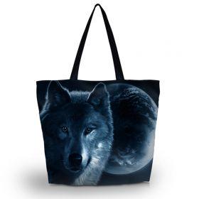 Huado nákupní a plážová taška Ve znamení vlka