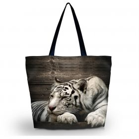 Huado nákupní a plážová taška - Tygr sibiřský