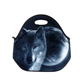 Huado termotaška z neoprénu- Vlk a měsíc