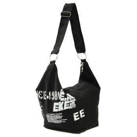 E.M.K dámská plátěná taška černá