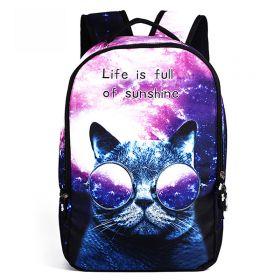 Who Cares batoh 22 l Kočka s brýlemi