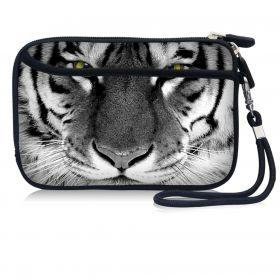Huado kosmetické pouzdro Tygr černobílý