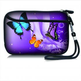 Huado kosmetické pouzdro Motýlci ve fialové