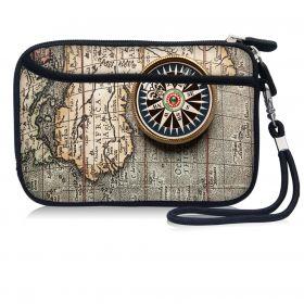 Huado kosmetické pouzdro Stará mapa a kompas