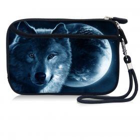 Huado kosmetické pouzdro Vlk a měsíc