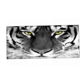 XXL podložka pod myš HUADO Tygr černobílý
