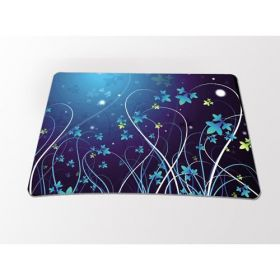 Huado podložka pod myš- Modré květy