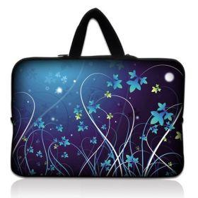 """Huado taška na notebook do 14.4"""" Modré květy"""