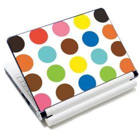 """Huado fólie na notebook 12""""-15,6"""" Polka dots"""