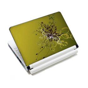 """Huado fólie na notebook 12""""-15,6"""" Zelený rozkvět"""