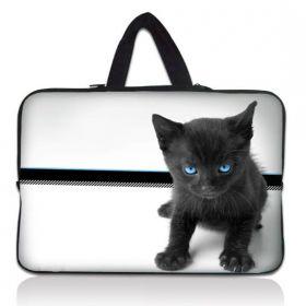 """Huado taška na notebook do 10.2"""" Černý kocour"""