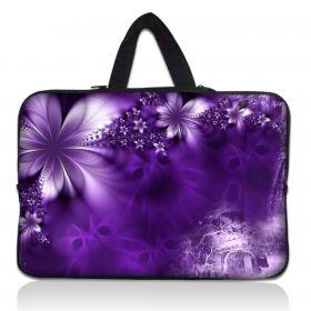 """Huado taška na notebook do 14.4"""" Fialové květy"""