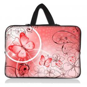 """Huado taška na notebook do 14.4"""" Motýlek růžový"""