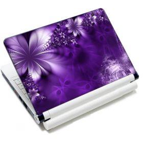 """Huado fólie na notebook 12""""-15,6"""" Fialové květy"""