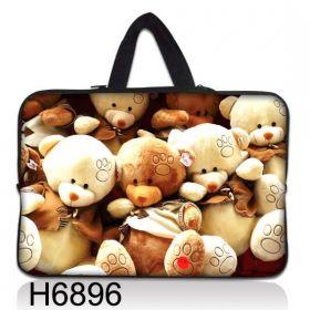 """Huado taška na notebook do 12.1"""" Medvídci"""