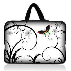 """Huado taška na notebook do 14.4"""" Barevný motýl"""