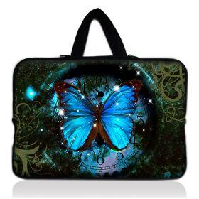 """Huado taška na notebook do 12.1"""" Hodiny a motýl"""