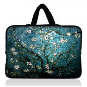 """Huado taška na notebook do 12.1"""" Modrá třešeň"""