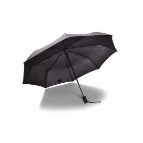 Skládací deštník 110cm Černý