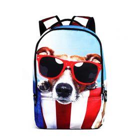 Who Cares batoh 22 l Pes s brýlemi