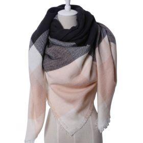 Blanket Dámská šála pončo Rosadark 140 cm