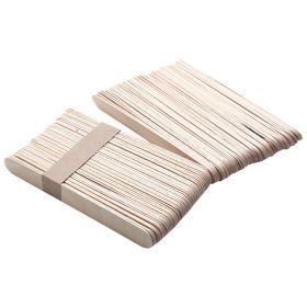 Dřevěné špachtle na vosk 11cm x 1cm 100 ks