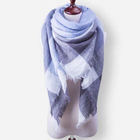 Blanket Dámská šála pončo Modroočko 140 cm