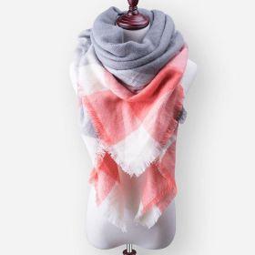 Blanket Dámská šála pončo Orange 140 cm