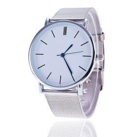 Svar Dámské kovové hodinky stříbrné