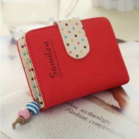 Samilon dámská peněženka červená
