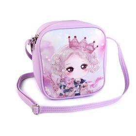 Dívčí kabelka s dívkou Fialová