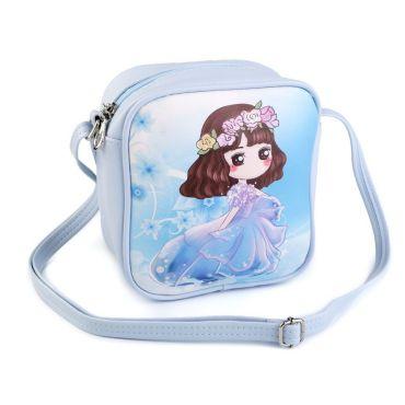 Dětská kabelka Manga girl Modrá