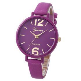 Geneva dámské hodinky Fialové