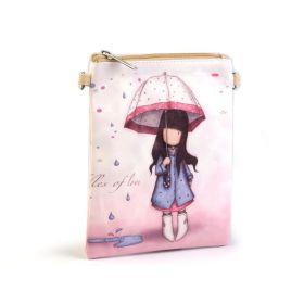 Dívčí kabelka přes rameno Holka v dešti