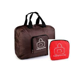 TRAVEL skládací cestovní taška Červená