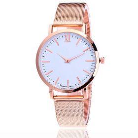 Svar Dámské kovové hodinky Růžové