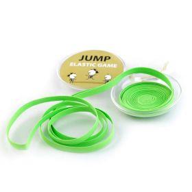 Skákací guma v plastovém pouzdře Zelená