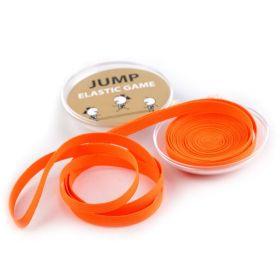 Skákací guma v plastovém pouzdře Oranžová