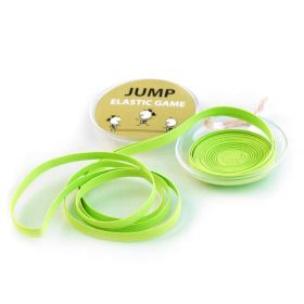 Skákací guma v plastovém pouzdře Žlutá