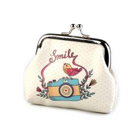 Dívčí peněženka na klíče či mince Smile