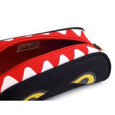 Languo pouzdro Shark žralok Černý