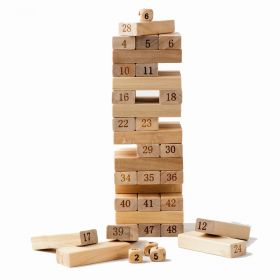 Společenská hra dřevěná věž JENGA 48 dílů