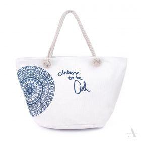 ArtOfPolo Plážová taška be Cool Bílá